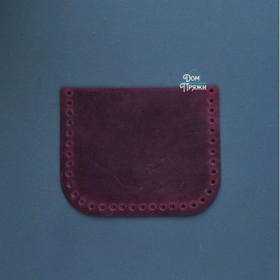 Карман для шопера кожа (Бордо)
