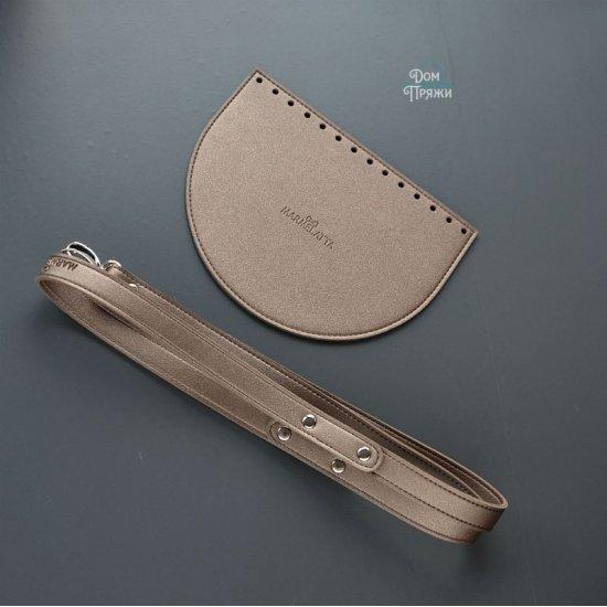Набор для сумки эко-кожа (Бронза) 15х20см/120см