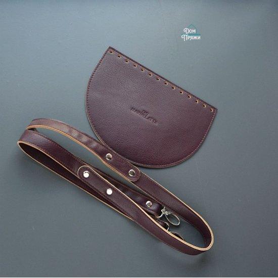 Набор для сумки эко-кожа (Марсала) 15х20см/120см