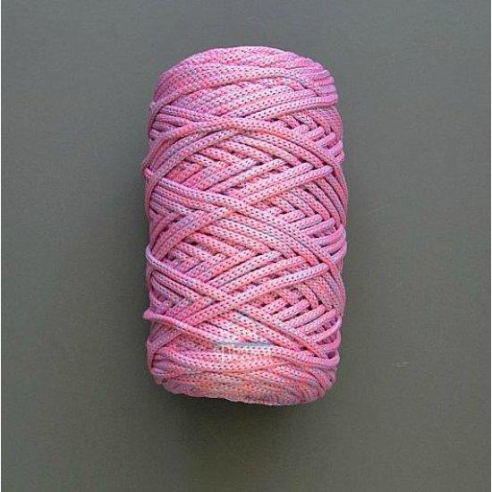 Шнур п/э 3мм меланж (Розовый+Сиреневый) DECO