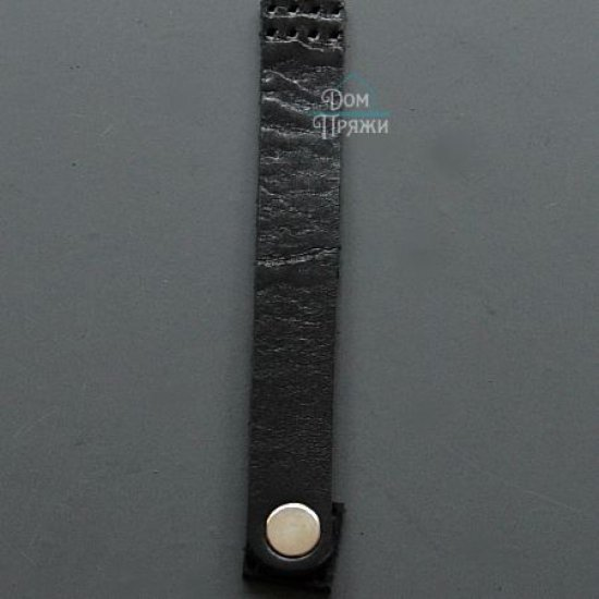 Магнитная кнопка для шопера (Черный) 14х2см