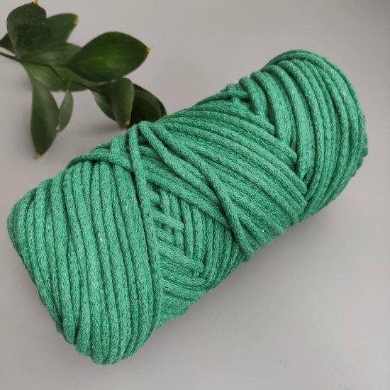 Шнур х/б 5мм (Зеленый) 100м DECO