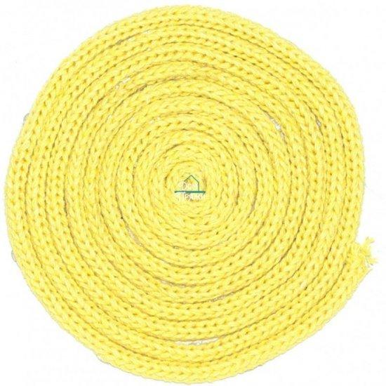 Шнур х/б 3мм (Желтый) 100м