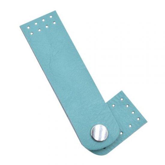Застежка для сумки эко-кожа (Мальдивы) 3х10,5см
