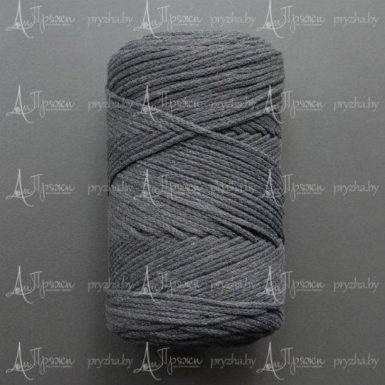 Шнур х/б 3мм Yarnart Macrame cotton (Графит) 225м
