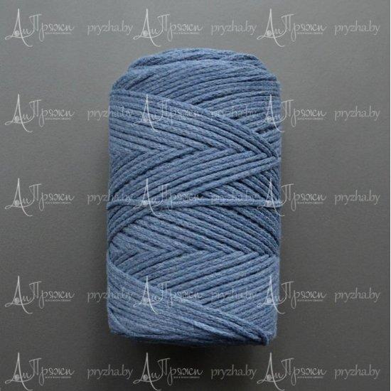 Шнур х/б 3мм Yarnart Macrame cotton (Джинс) 225м Yarnart