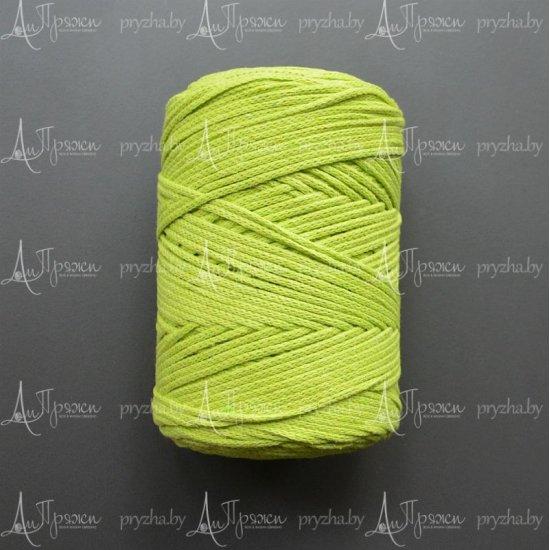 Шнур х/б 3мм Yarnart Macrame cotton (Салат) 225м Yarnart