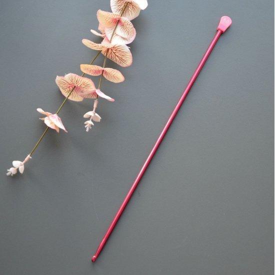 Крючок для тунисского вязания 6.0мм