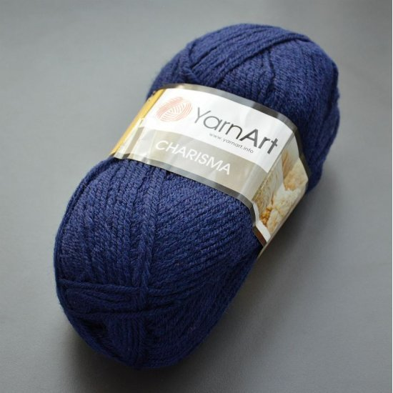 Yarnart Charisma (Синий бархат) 583