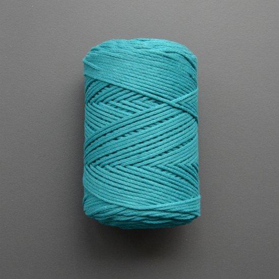 Шнур х/б 3мм Yarnart Macrame cotton (Изумруд) 225м Yarnart