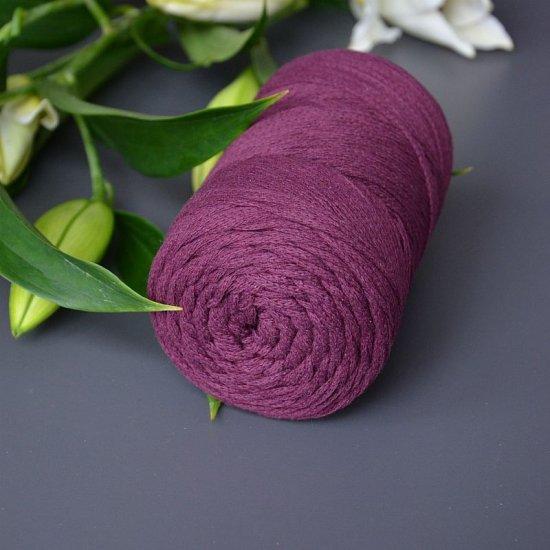 Шнур х/б 3мм Yarnart Macrame cotton (Марсал) 225м Yarnart
