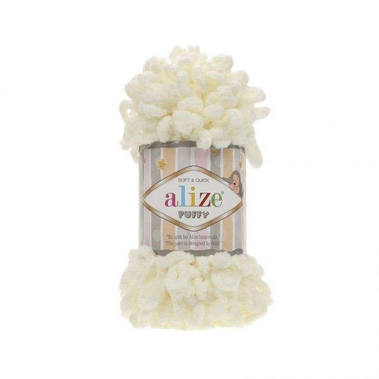 Пряжа Alize Puffy (Молочный) 62 Alize