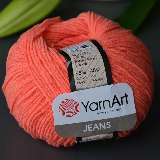 Yarnart Jeans (Лососевый) 23