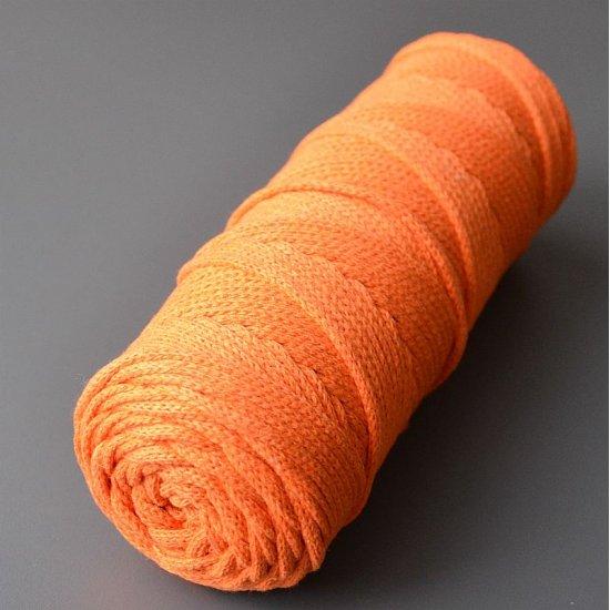 Шнур х/б 4мм (Сухой апельсин) 100м DECO
