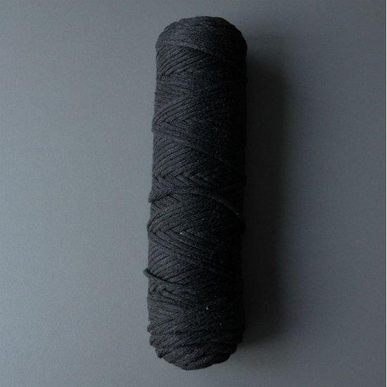 Шпагат х/б 3мм (Черный) 100м DECO