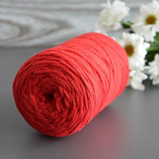 Шнур х/б 3мм Yarnart Macrame cotton (Красный) 225м Yarnart