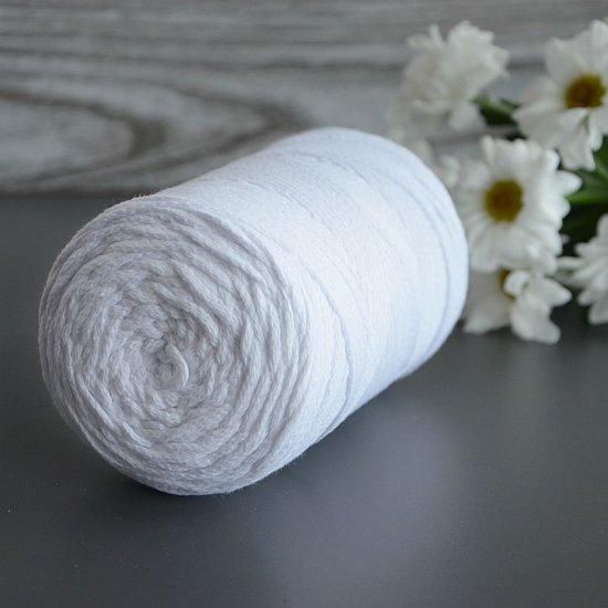 Шнур х/б 3мм Yarnart Macrame cotton (Белый) 225м Yarnart