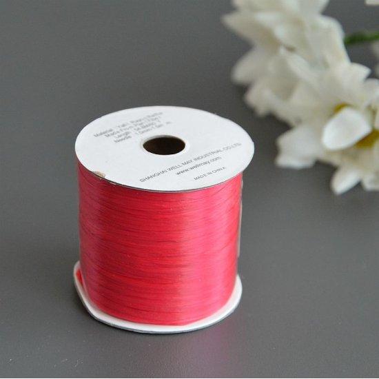 Рафия ISPIE Lace (Красный) 55м Wellmay ISPIE