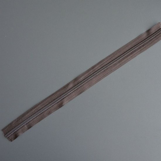 Молния для сумки (Шоколад) 10см Houseyarn