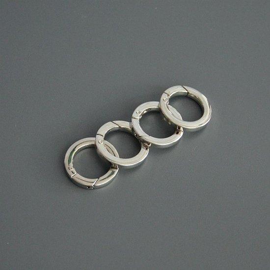 Кольцо-карабин R7 (2.1см внутренний)
