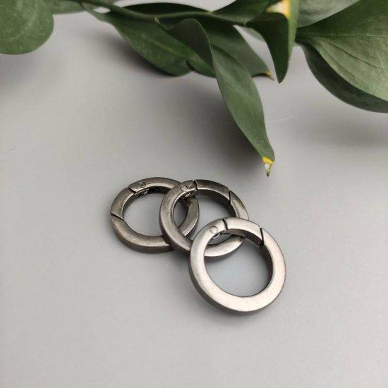 Кольцо-карабин R8 (2.1см внутренний)