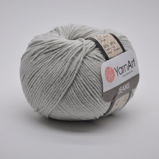 Yarnart Jeans (Светло-серый) 49