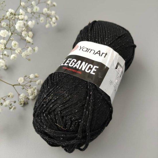 Yarnart Elegance (Черный) 104 Yarnart