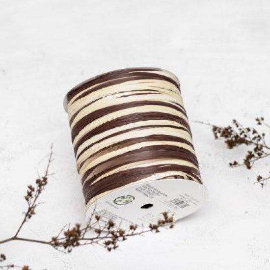 Рафия ISPIE (Chokolate+oatmeal) 250м Wellmay