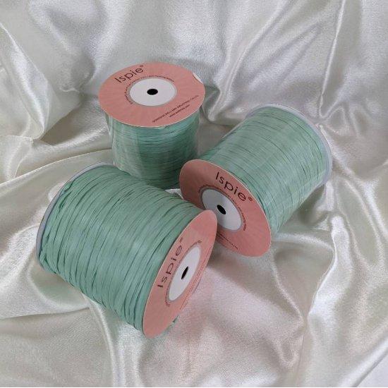Рафия ISPIE (Mint turquoise) 250м Wellmay ISPIE