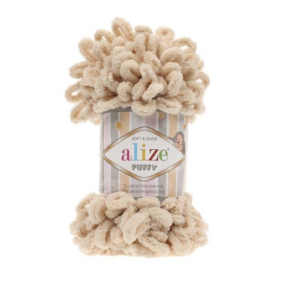 Пряжа Alize Puffy (Шампань) 310