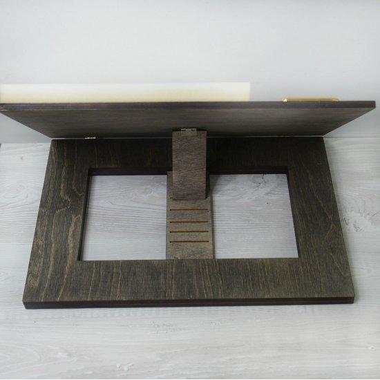 Планшет для Макраме (Темно-коричневый) 40х28см Houseyarn