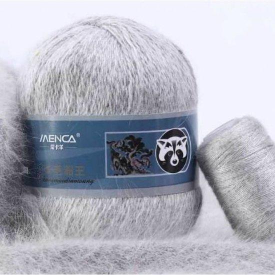 Пряжа Пух норки (Светло-серый) 802