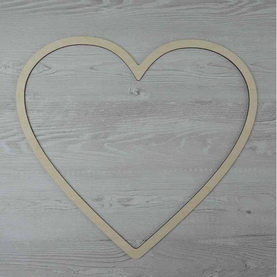 Каркас для ловца снов (Сердце) 39х42см