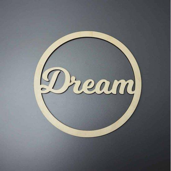 Каркас для ловца снов (Счастье) 25см