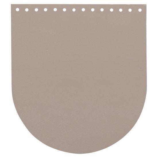 Крышка-клапан кожа (Карамель) 20х22см