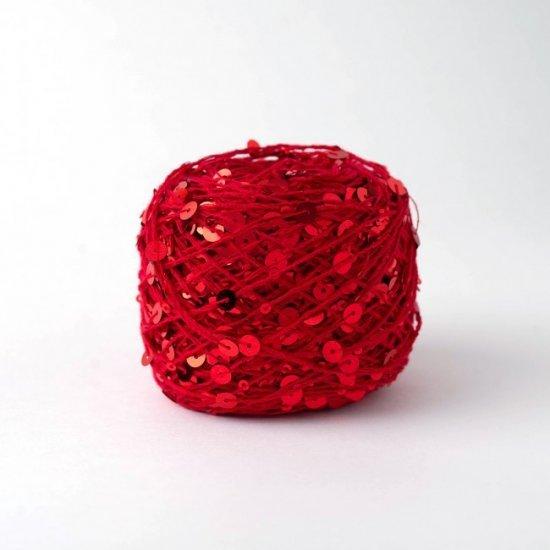 Пайетки (Красный + Красный) 145м