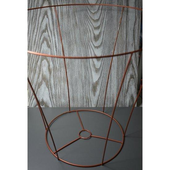 Каркас для абажура 44х50х30см (Медный)