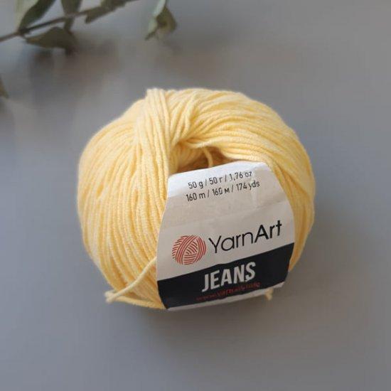 Yarnart Jeans (Желтый) 88