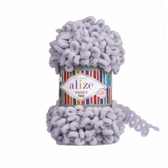 Пряжа Alize Puffy Fine (Голубь) 268