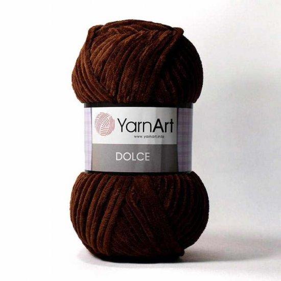 Yarnart Dolce (Горький шоколад) 775