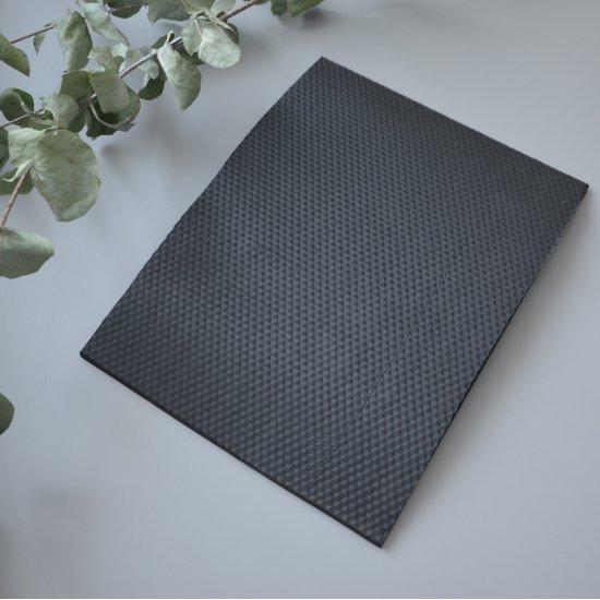 Микропористая резина для подошвы 5мм (Черный) 30х22см Houseyarn