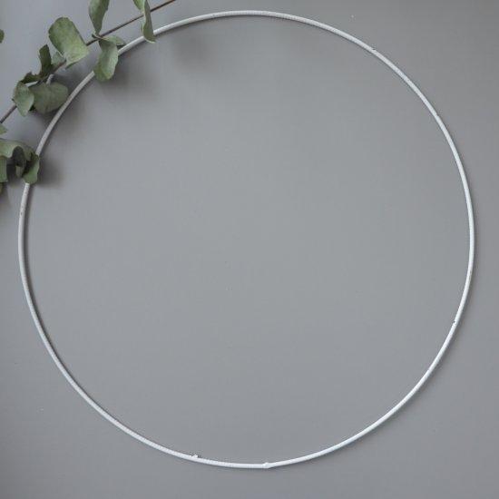 Каркас для ловца снов 50см (Белый металл) Houseyarn