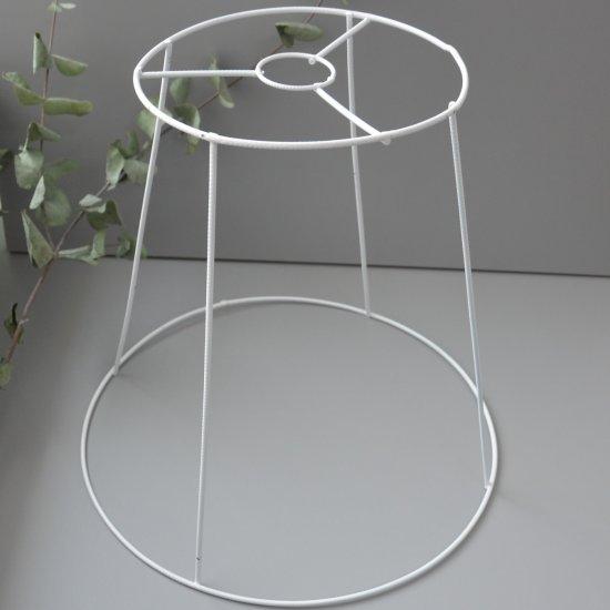 Каркас для абажура 35х37х20см (Белый металл.) Houseyarn