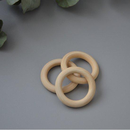 Кольцо деревянное для макраме 50мм Houseyarn