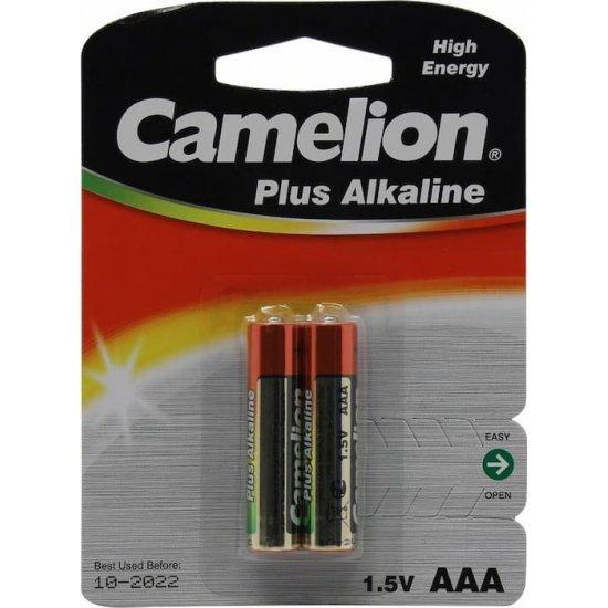 Батарейка AAA щелочная Camelion LR03-2 1.5V 2 шт Camelion
