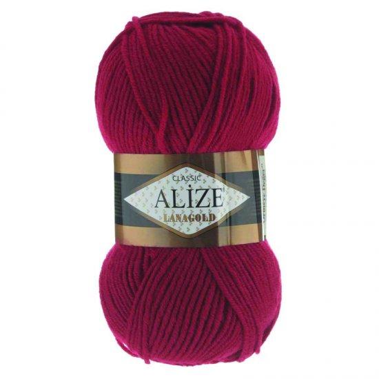 Alize Lana Gold Classik (Красный) 56 Alize