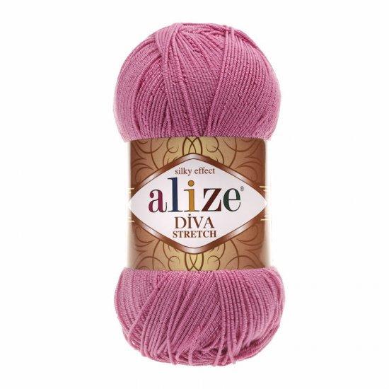 Alize Diva stretch (Розовый) 178 Alize