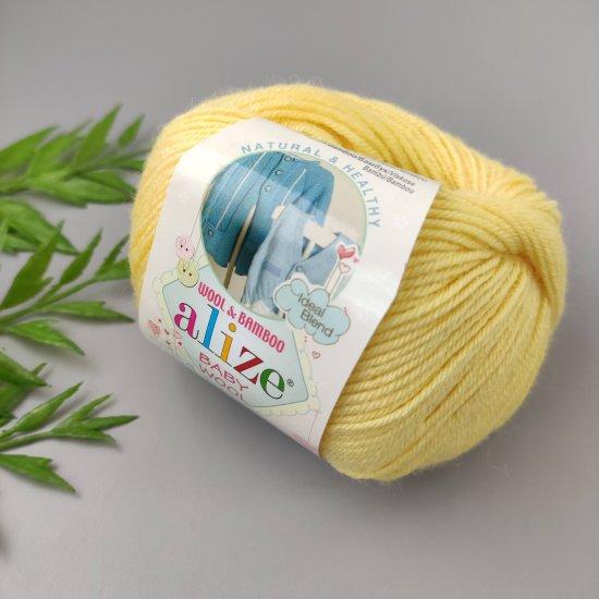 Alize Baby Wool (Желтый) 187 Alize