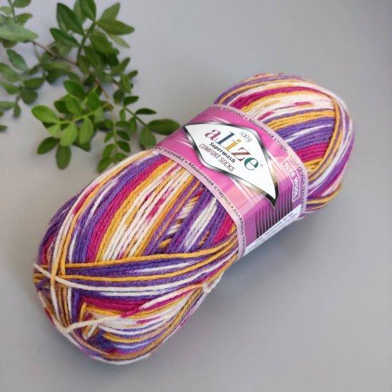 Alize Superwash comfort socks (7655) Alize